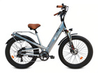 Bagi Bike B26 Fat Tire Cruiser-Electric Bicycle-Bagi Bike-Grey-Voltaire Cycles of Highlands Ranch Colorado