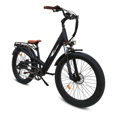 Bagi Bike B26 Fat Tire Cruiser-Electric Bicycle-Bagi Bike-Voltaire Cycles of Highlands Ranch Colorado
