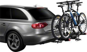 "Thule 9032 EasyFold 1.25"" or 2"" Hitch Rack: 2-Bike - E-Bike compatible-Bicycle Automobile Carriers-Thule-Voltaire Cycles of Highlands Ranch Colorado"