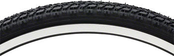 Vee Rubber Semi Knobby Tire - 26 x 1.75, Clincher, Wire, Black, 27tpi-Bicycle Tires-Vee Rubber-Voltaire Cycles of Highlands Ranch Colorado