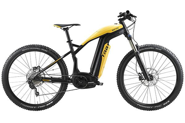 BESV TRB1 XC 250w Electric Bicycle-Electric Bicycle-BESV-Yellow-Voltaire Cycles of Highlands Ranch Colorado