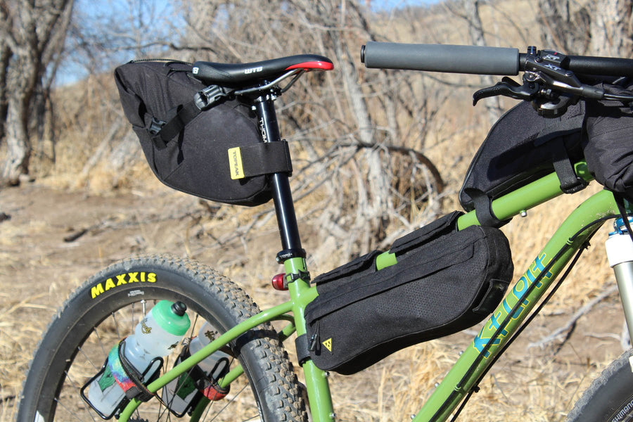 Topeak Midloader Bicycle Frame Bag 4.5L-Bicycle Frame Bags-Topeak-Voltaire Cycles of Highlands Ranch Colorado
