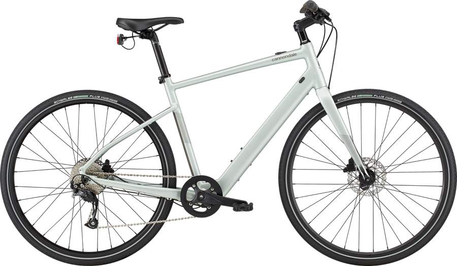 Cannondale Quick Neo SL2-Electric Bicycle-Cannondale-Sage Gray Medium-Voltaire Cycles of Highlands Ranch Colorado