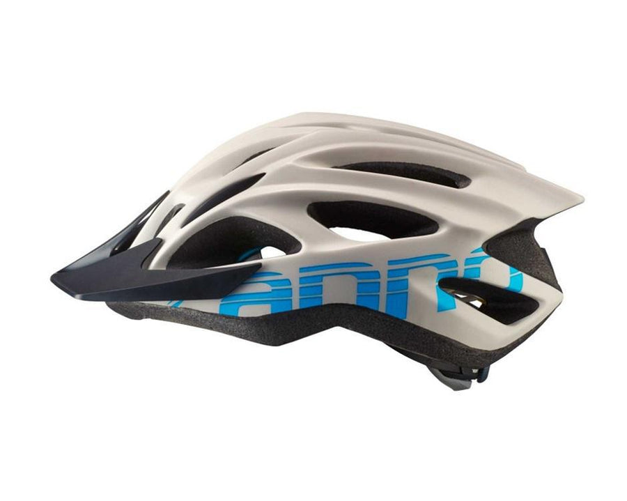 Quick Adult Helmet-Helmets-Cannondale-Grey w/Blue S/M-Voltaire Cycles of Highlands Ranch Colorado