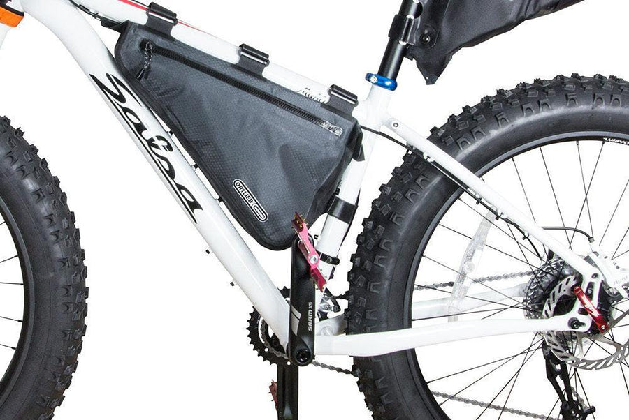 Ortlieb Bike Packing Frame-Pack Large - 2 sizes 4 Liter and 6 Liter-Bicycle Frame Bags-Ortlieb-Voltaire Cycles of Highlands Ranch Colorado