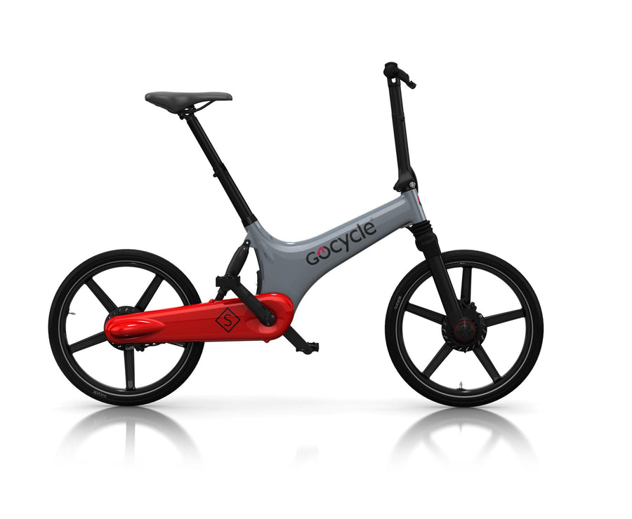 Gocycle GS The All Rounder-Electric Bicycle-Gocycle-Gray/Red-Voltaire Cycles of Highlands Ranch Colorado