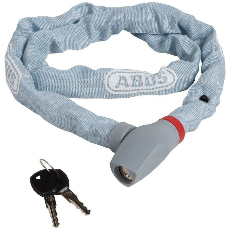 ABUS Keyed Chain Lock uGrip 585-Bicycle Locks-Abus-Grey-Voltaire Cycles of Highlands Ranch Colorado