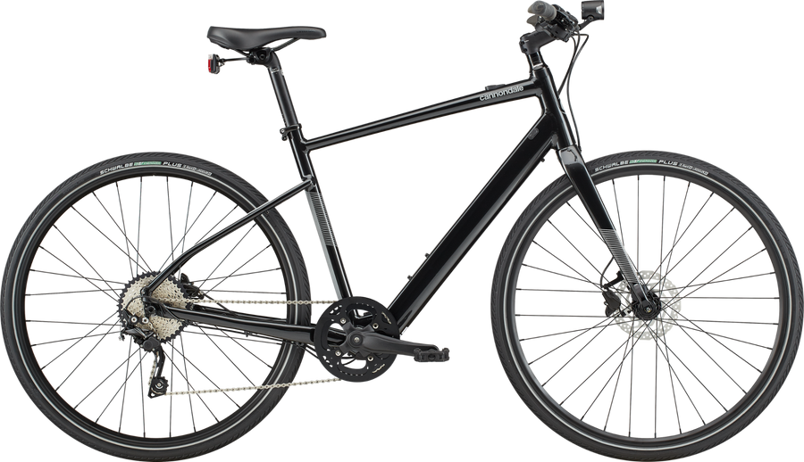 Cannondale Quick Neo SL1-Electric Bicycle-Cannondale-Black Pearl Small-Voltaire Cycles of Highlands Ranch Colorado