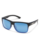 Suncloud Rambler Sunglasses-eyewear-Suncloud-Black Blue || Polarized Blue Mirror-Voltaire Cycles of Highlands Ranch Colorado