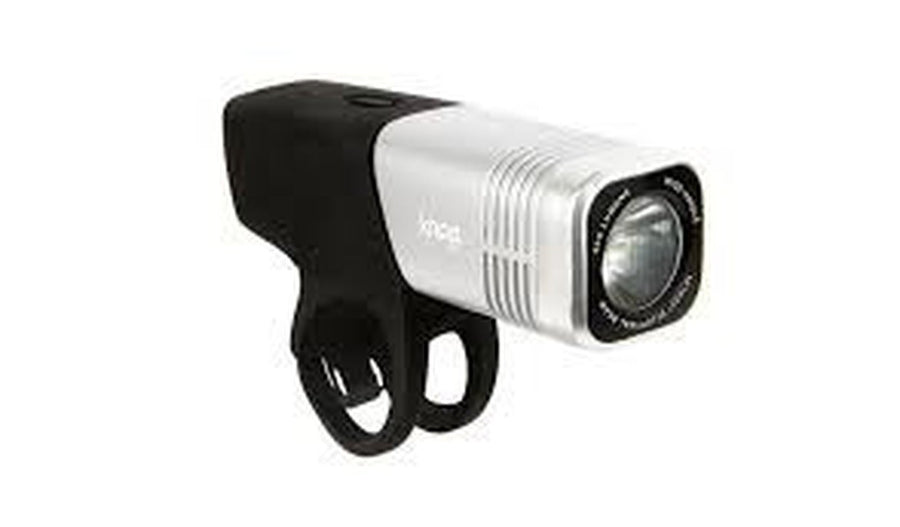 KNOG Blinder Arc 640-Bicycle Lights-KNOG-Silver-Voltaire Cycles of Highlands Ranch Colorado