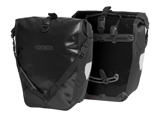 Ortlieb Back Roller Free (Pair)-Bicycle Panniers-Ortlieb-Black-Voltaire Cycles of Highlands Ranch Colorado