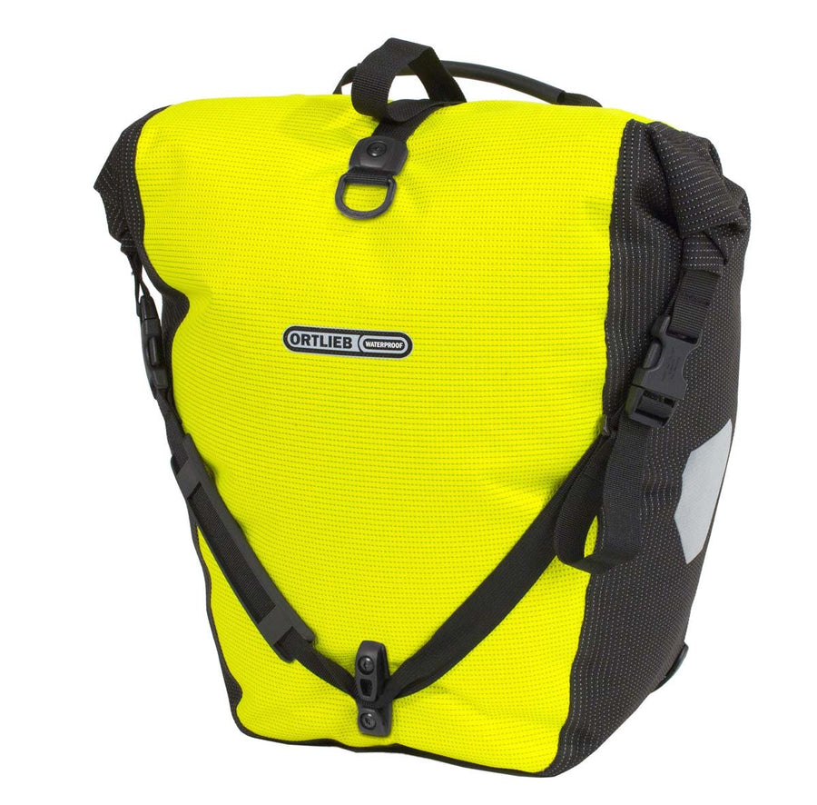 Ortlieb Back-Roller High Visibility-Bicycle Panniers-Ortlieb-Voltaire Cycles of Highlands Ranch Colorado