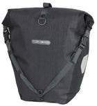 Ortlieb Back-Roller Plus (Pair)-Bicycle Panniers-Ortlieb-Granite-Black-Voltaire Cycles of Highlands Ranch Colorado