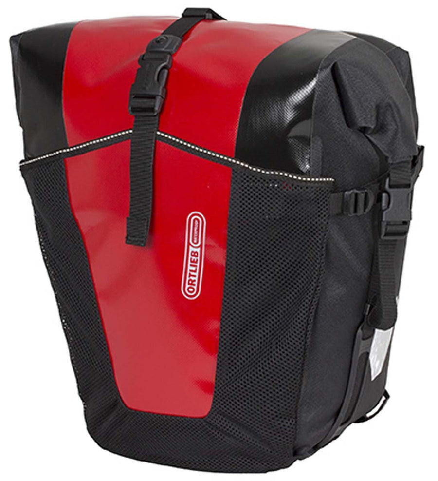 Ortlieb Back-Roller Pro Classic (Pair)-Bicycle Panniers-Ortlieb-Red-Black-Voltaire Cycles of Highlands Ranch Colorado