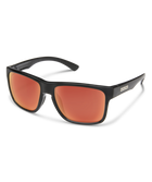 Suncloud Rambler Sunglasses-eyewear-Suncloud-Black || Polarized Red Mirror-Voltaire Cycles of Highlands Ranch Colorado