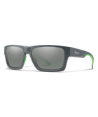 Outlier 2-eyewear-Smith Optics-Matte Cement || ChromaPop Platinum Mirror-Voltaire Cycles of Highlands Ranch Colorado