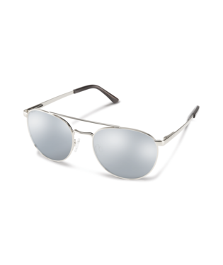 Suncloud Motorist Sunglasses-eyewear-Suncloud-Silver || Polarized Silver Mirror-Voltaire Cycles of Highlands Ranch Colorado