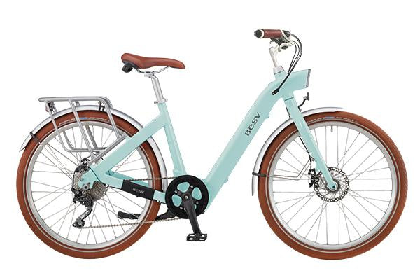"BESV CF1 SE 26"" Electric Bicycle-Electric Bicycle-BESV-Turquoise-Voltaire Cycles of Highlands Ranch Colorado"