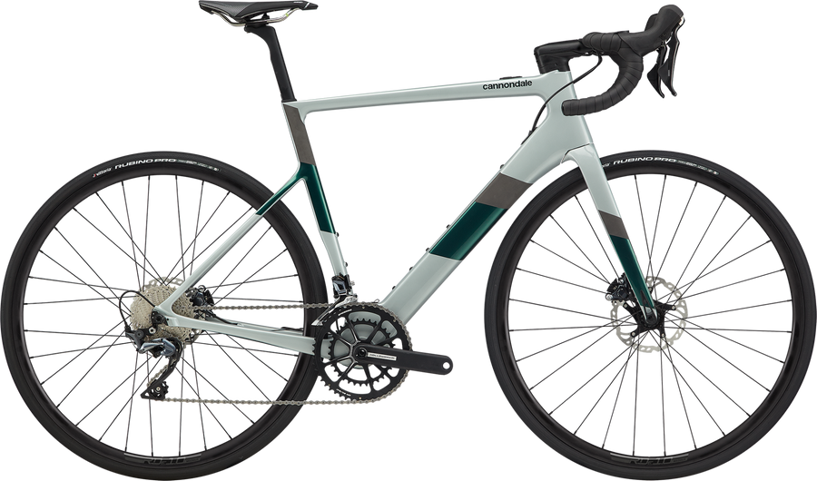 Cannondale SuperSix EVO NEO 2-Electric Bicycle-Cannondale-Sage Gray Large-Voltaire Cycles of Highlands Ranch Colorado