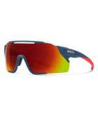 Smith Attack MAG MTB Sunglasses-Smith Optics-Matte Mediterranean || ChromaPop Red Mirror-Voltaire Cycles of Highlands Ranch Colorado