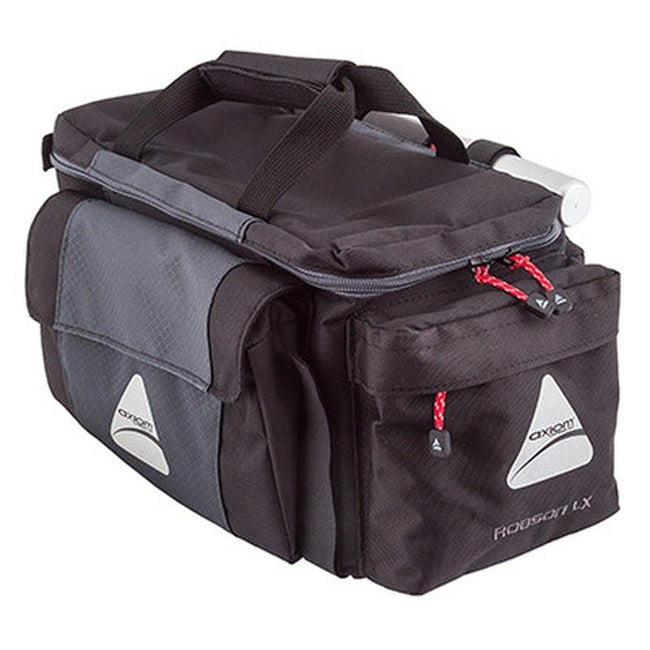 Axiom Robson LX Trunk Bag-Bicycle Trunk Bags-Axiom-Voltaire Cycles of Highlands Ranch Colorado