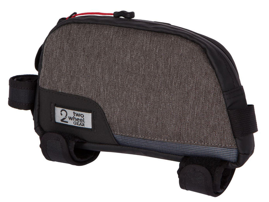 Two Wheel Gear Commute Top Tube Bag-Two Wheel Gear-Graphite Gray-Voltaire Cycles of Highlands Ranch Colorado