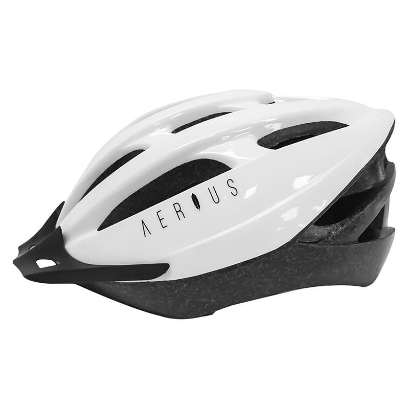 Aerius Sport V-19 Helmet-Helmets-Aerius-White-XL-Voltaire Cycles of Highlands Ranch Colorado