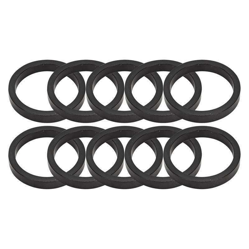 Origin 8 Alloy Headset Spacers 5mmx1-1/8 black-Bicycle Parts-Origin 8-Voltaire Cycles of Highlands Ranch Colorado
