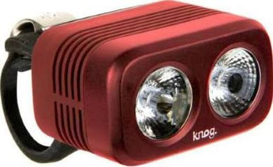 KNOG Blinder Road 400-Bicycle Lights-KNOG-Ruby - OPEN BOX!-Voltaire Cycles of Highlands Ranch Colorado