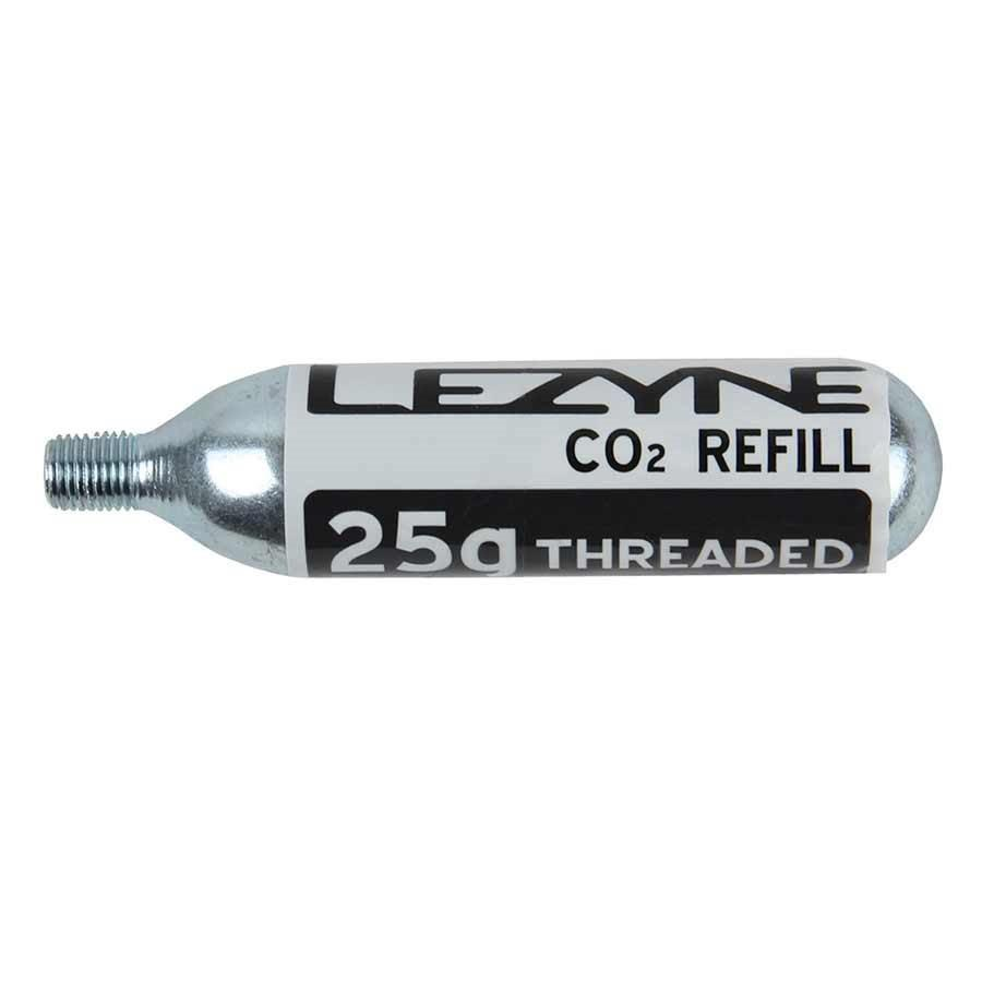 Lezyne C02 Cartridge 5-Pack - for Lezyne Pumps-Bicycle Pumps-Lezyne-25g. Lezyne C02 Cartridge 5-Pack-Voltaire Cycles of Highlands Ranch Colorado