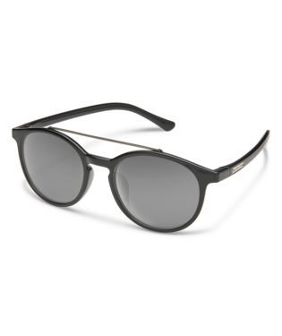 Suncloud Belmont Sunglasses-eyewear-Suncloud-Black || Polarized Gray-Voltaire Cycles of Highlands Ranch Colorado