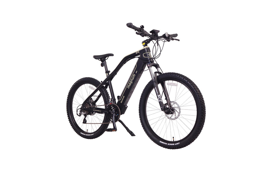 "Magnum Summit 27"" eMTB Electric Bicycle-Electric Bicycle-Magnum-Sand-Voltaire Cycles of Highlands Ranch Colorado"