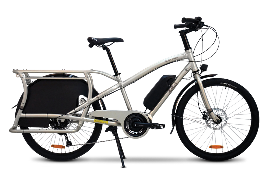 Yuba Electric Boda Boda-Electric Bicycle-Yuba-Sandstone-Voltaire Cycles of Highlands Ranch Colorado