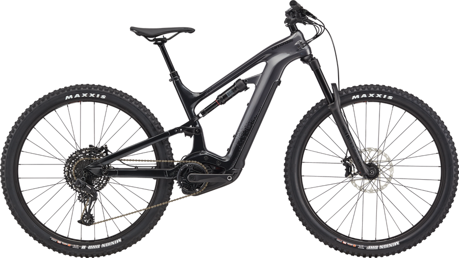 Cannondale Moterra NEO 3-Electric Bicycle-Cannondale-Matte Black X Large-Voltaire Cycles of Highlands Ranch Colorado