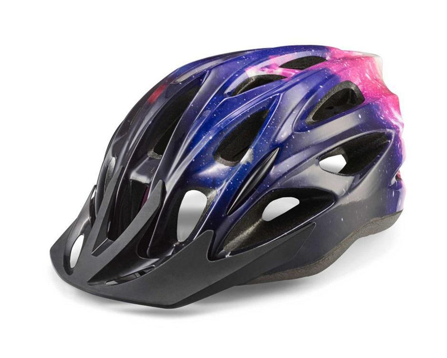 Quick Adult Helmet-Helmets-Cannondale-Purple w/ Black Galaxy S/M-Voltaire Cycles of Highlands Ranch Colorado
