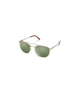 Suncloud Motorist Sunglasses-eyewear-Suncloud-Gold || Polarized Gray Green-Voltaire Cycles of Highlands Ranch Colorado