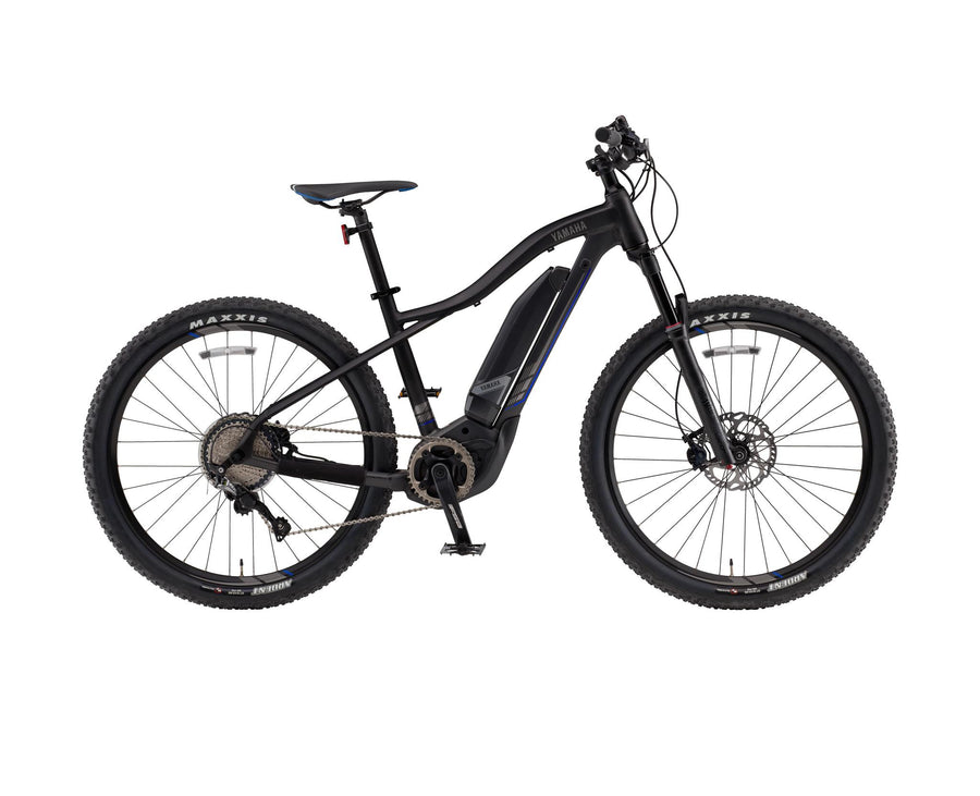"Yamaha YDX TORC eMTB-Electric Bicycle-Yamaha-Medium (17"")-Black-Voltaire Cycles of Highlands Ranch Colorado"