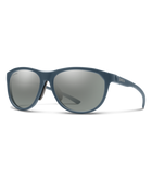Smith Uproar Sunglasses-Eyewear-Smith Optics-Matte Iron || ChromaPop Platinum Mirror-Voltaire Cycles of Highlands Ranch Colorado