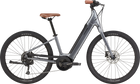 Cannondale Adventure Neo 4 Electric Bike-Electric Bicycle-Cannondale-Gray Small-Voltaire Cycles of Highlands Ranch Colorado