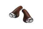 Brooks Ergon GP1 130mm/130mm Bicycle Grips-Bicycle Grips-Brooks England-Brown-Voltaire Cycles of Highlands Ranch Colorado