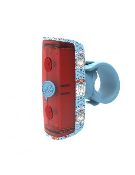 Knog Pop R Rear Bicycle Light-Bicycle Lights-KNOG-Light Blue-Voltaire Cycles of Highlands Ranch Colorado