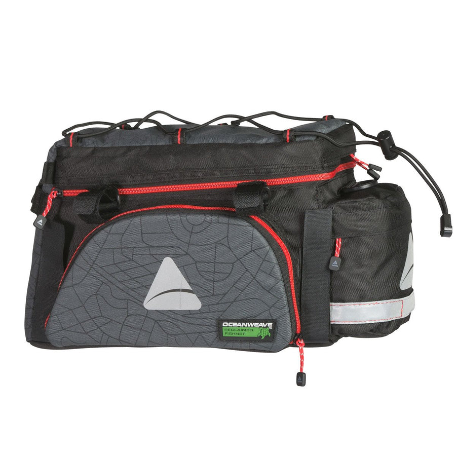 Axiom Seymour Oceanweave EXP 19+ Bicycle Rear Trunk Bag-Bicycle Trunk Bags-Axiom-Voltaire Cycles of Highlands Ranch Colorado