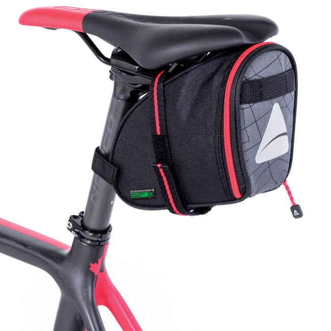 Axiom Seymour OceanWeave Wedge 1.3 Bicycle Bag-Bicycle Seat Bags-Axiom-Voltaire Cycles of Highlands Ranch Colorado