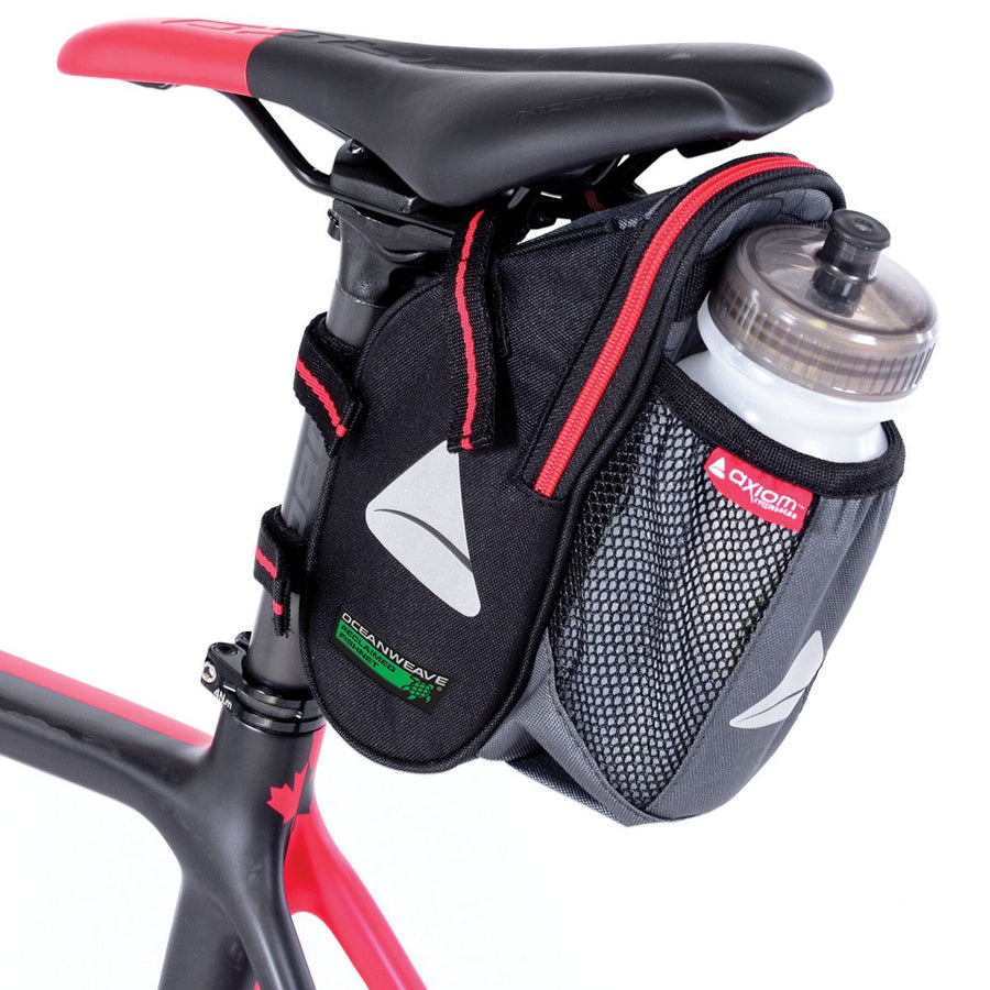 Axiom Bicycle Seat Wedge Saddle Bag-Bicycle Seat Bags-Axiom-Voltaire Cycles of Highlands Ranch Colorado