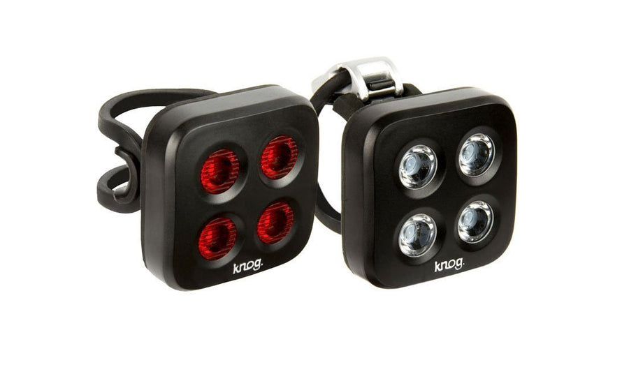Blinder MOB The Face Front-Bicycle Lights-KNOG-Voltaire Cycles of Highlands Ranch Colorado