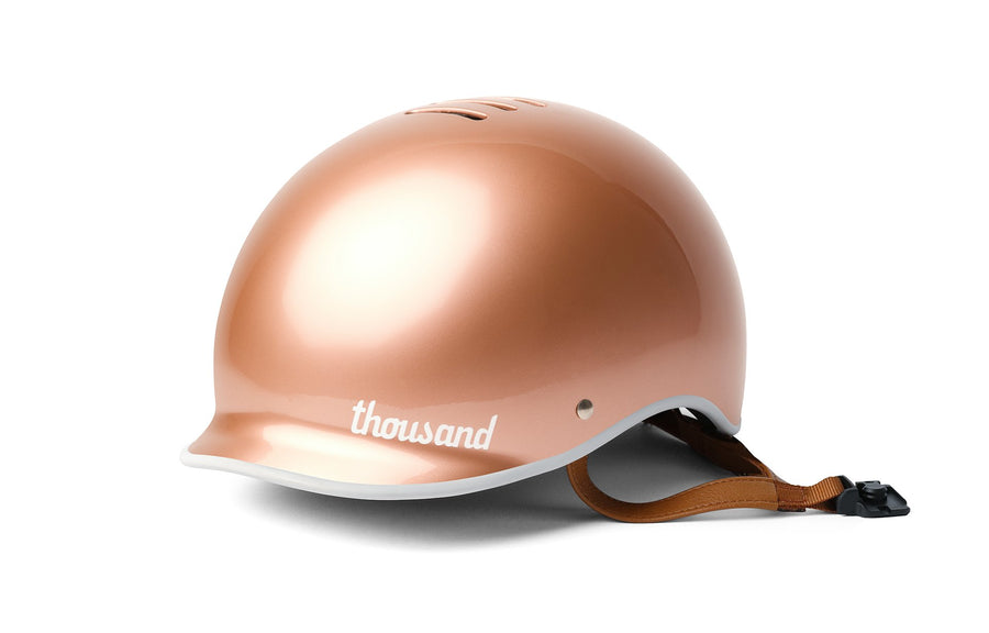 Thousand Helmet Metallics Collection-Helmets-Thousand-Rose Gold-Small-Voltaire Cycles of Highlands Ranch Colorado