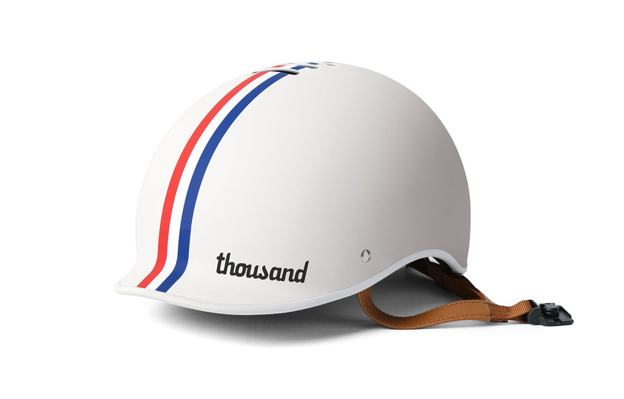 Thousand Helmet Heritage Collection-Helmets-Thousand-Speedway Creme-Small-Voltaire Cycles of Highlands Ranch Colorado