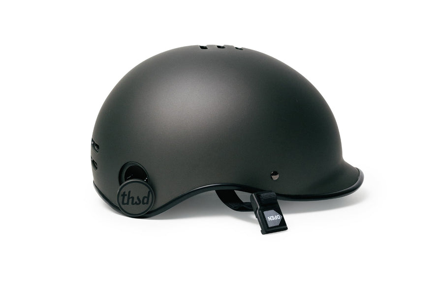 Thousand Helmet Heritage Collection-Helmets-Thousand-Stealth Black-Medium-Voltaire Cycles of Highlands Ranch Colorado