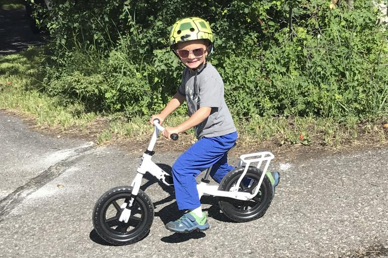 Yuba Flip Flop Lime Children's Balance Bike-Basic Bicycles-Yuba-Voltaire Cycles of Highlands Ranch Colorado