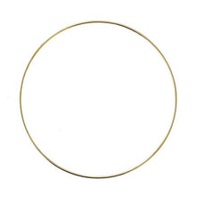 Load image into Gallery viewer, **FEBRUARY PRE-ORDER** Gold hoop wreath
